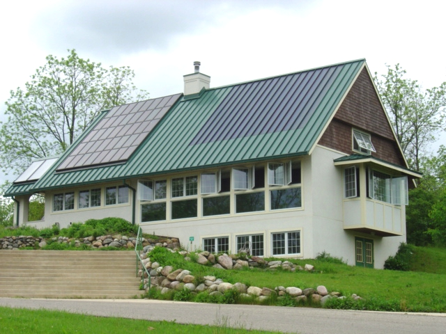 Green Building United With Ultra Seam Standing Seam Roof